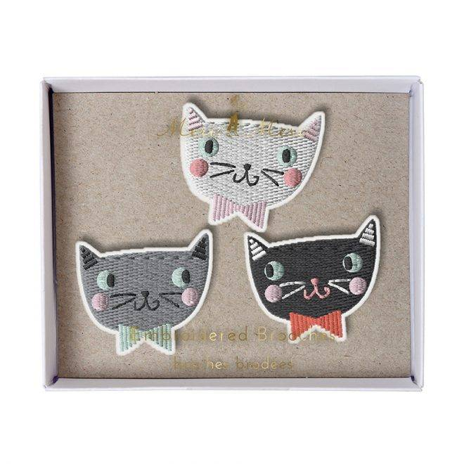 MERIMERI Cat brooches