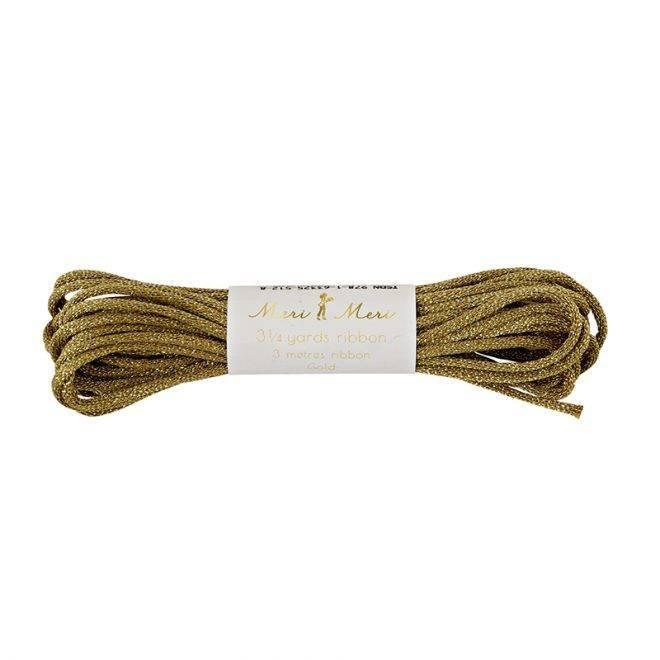 MERIMERI Acrylic bunting cord gold