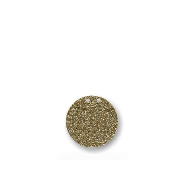 MERIMERI Gold glitter acrylic bunting STOP