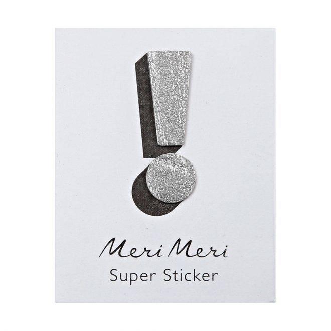 MERIMERI Leather sticker !