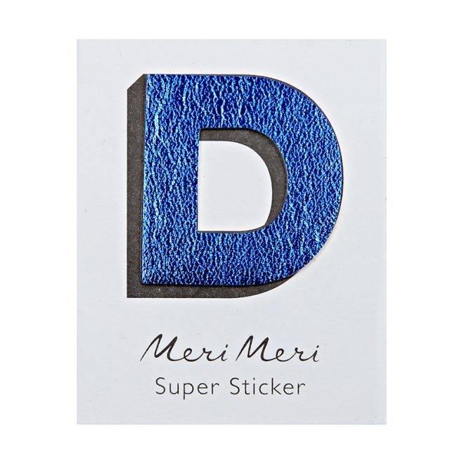 MERIMERI Leather sticker D