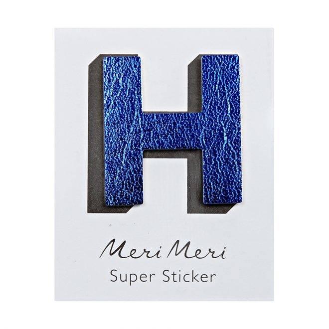 MERIMERI Leather sticker H