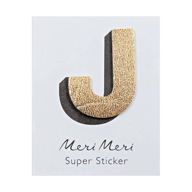 MERIMERI Leather sticker J