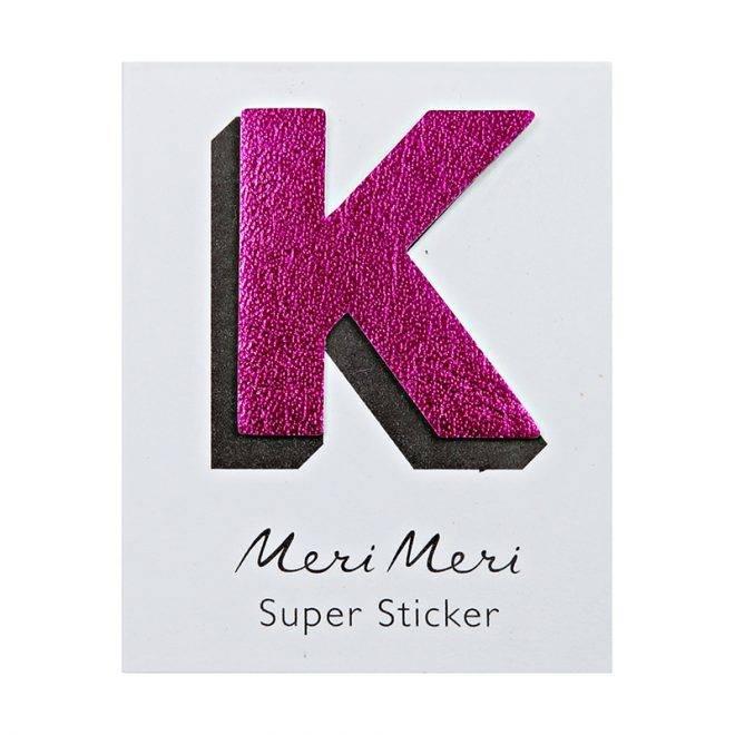 MERIMERI Leather sticker K