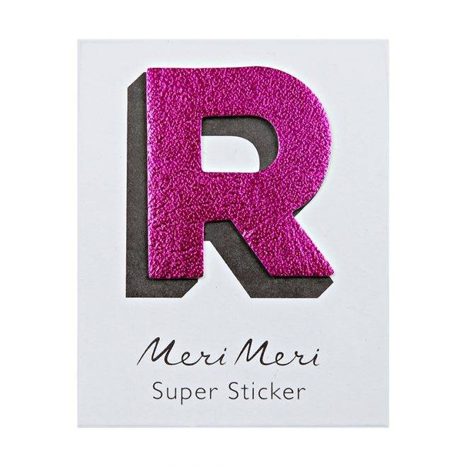 MERIMERI Leather sticker R