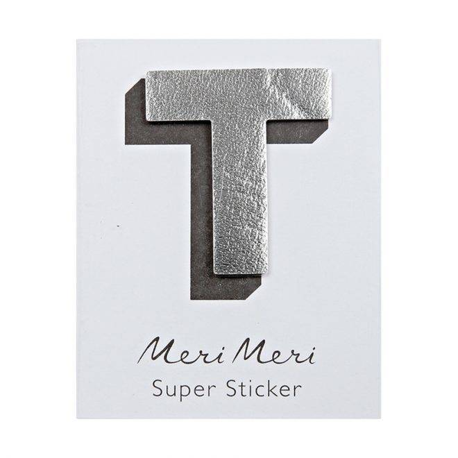 MERIMERI Leather sticker T