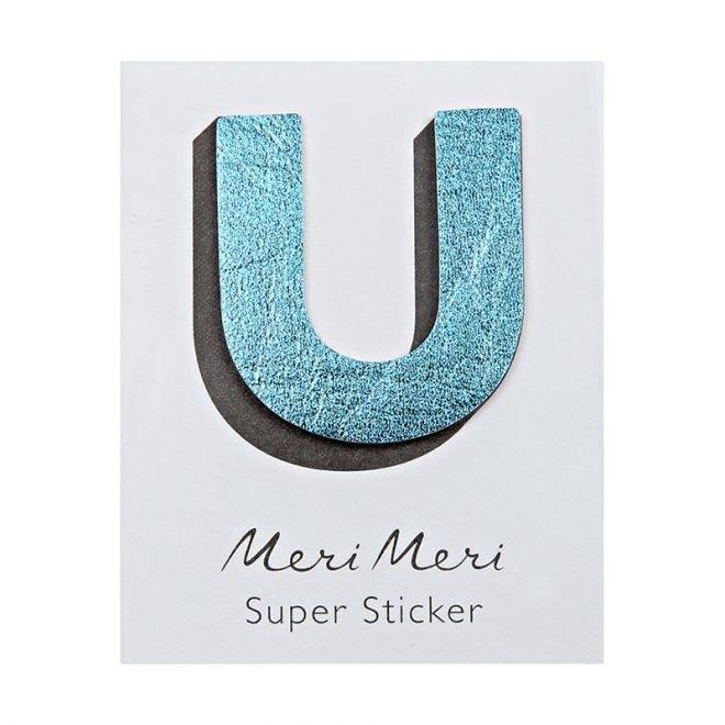 MERIMERI Leather sticker U