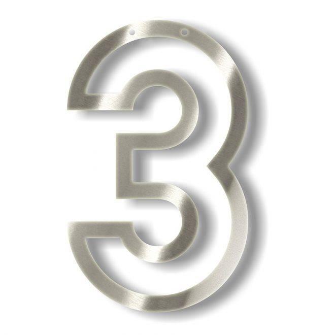 MERIMERI Silver acrylic bunting 3
