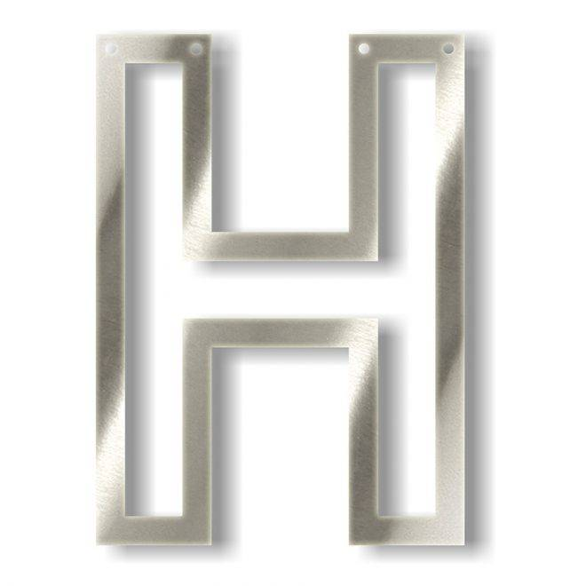 MERIMERI Silver acrylic bunting H
