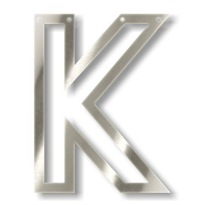 MERIMERI Silver acrylic bunting K