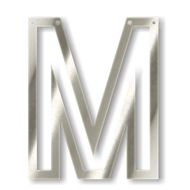 MERIMERI Silver acrylic bunting M