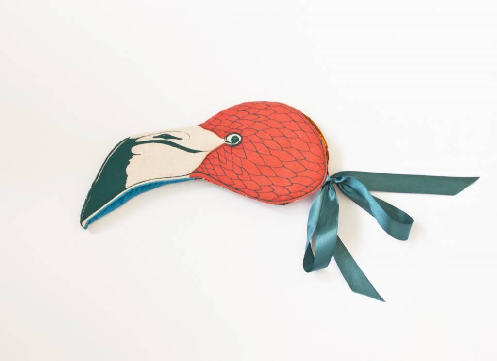 animalesque flamingo mask