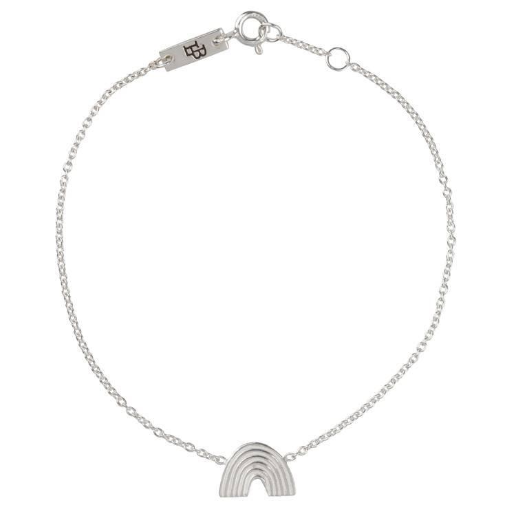 LENNEBELLE rainbow single bracelet mother silver