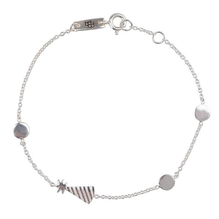 LENNEBELLE partyhat bracelet mother silver