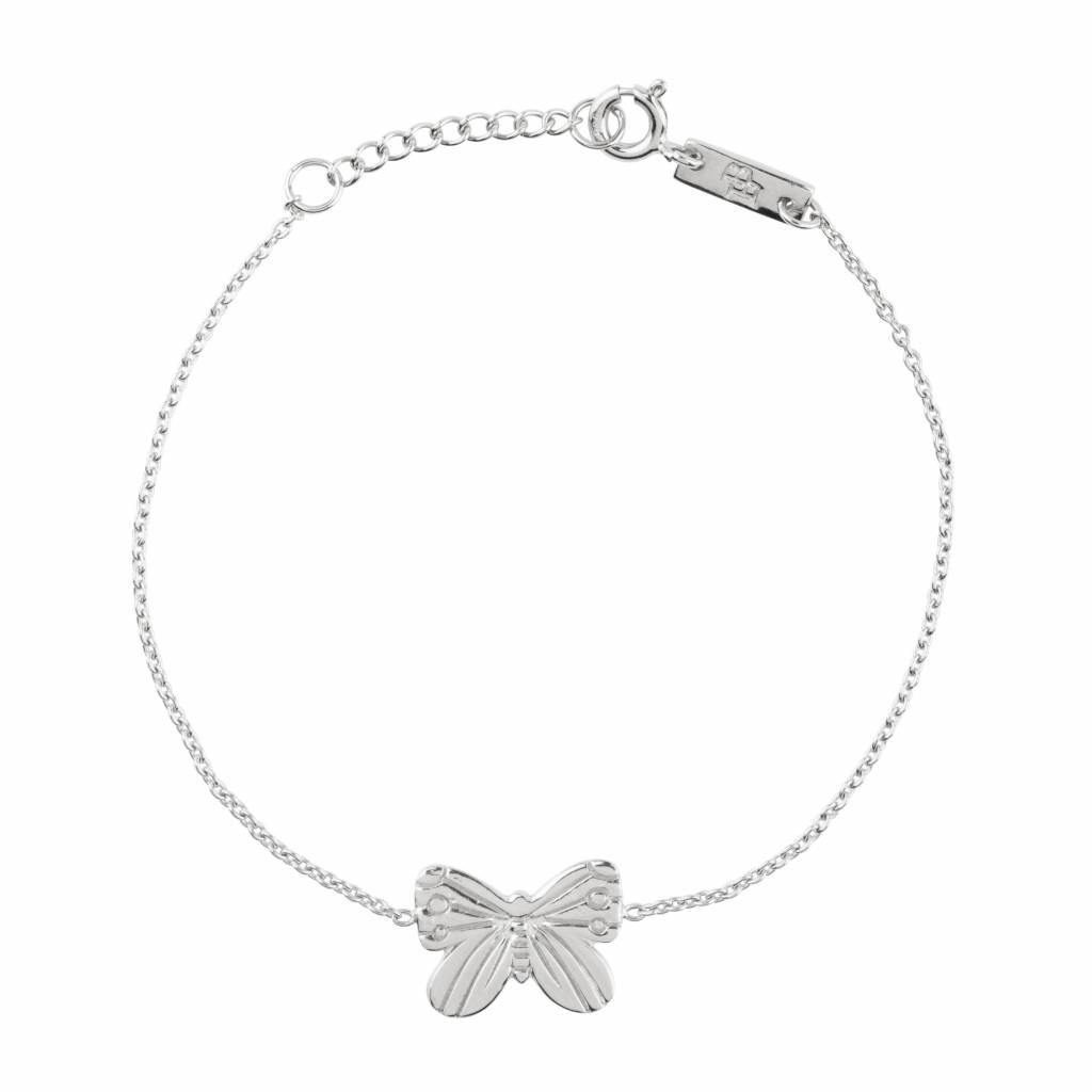 LENNEBELLE Spread your wings and fly daughter bracelet silver