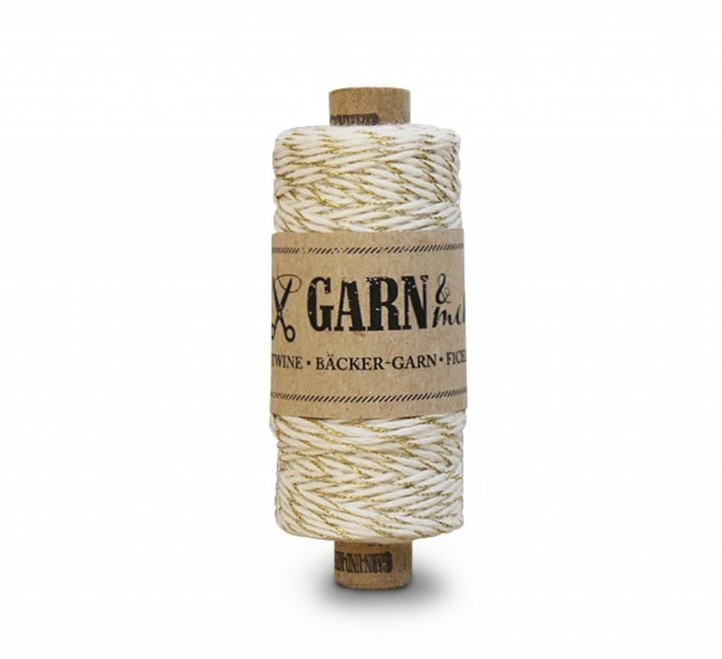 Garn & Mehr bakers twine gold- natural