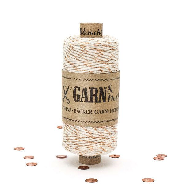 Garn & Mehr bakers twine copper- natural