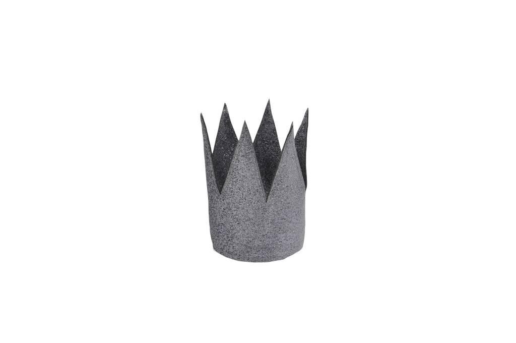 MOUCHE anthracite crown glitter