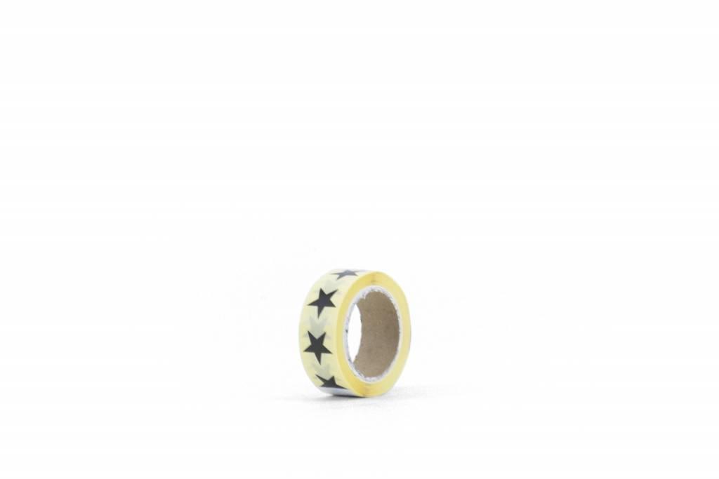 KD sticker star black 1,5 cm