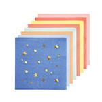 MERIMERI jazzy star small napkins
