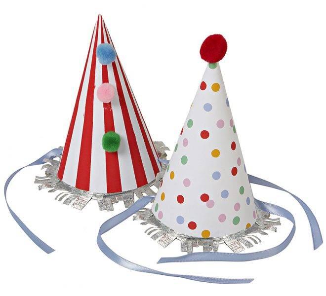 MERIMERI toot sweet party hats