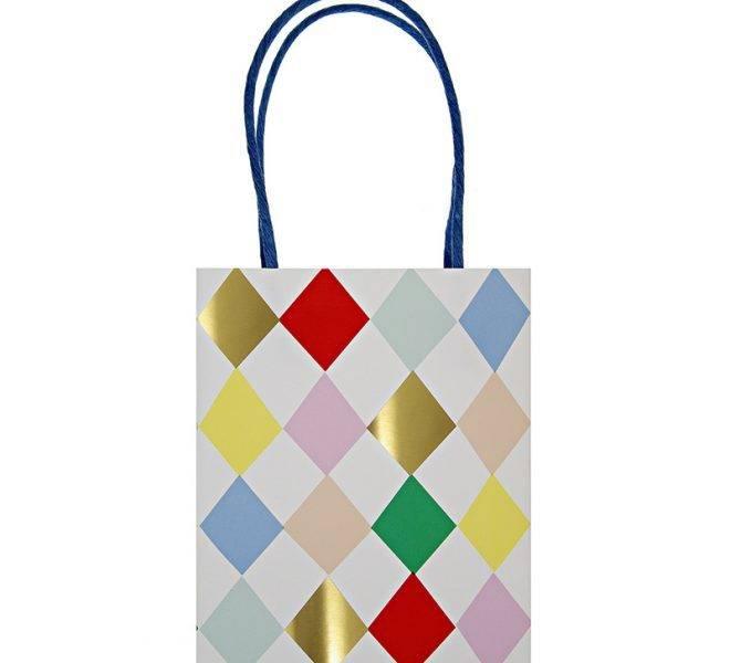 MERIMERI harlequin party bags