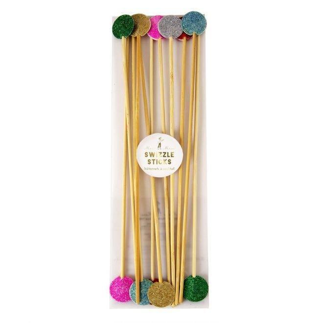 MERIMERI Multi-colour swizzle sticks