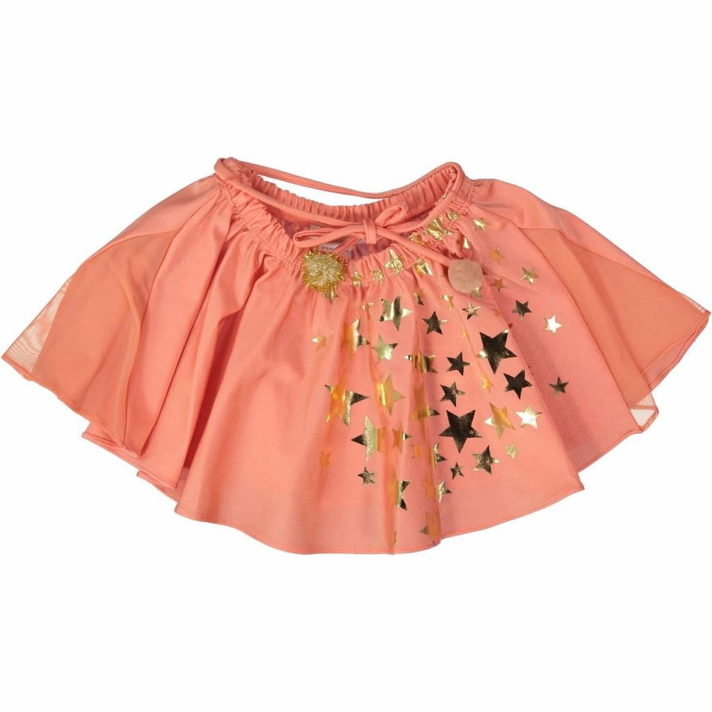 ATSUYO ET AKIKO violetta skirt in peach - size M (4-6 y.)