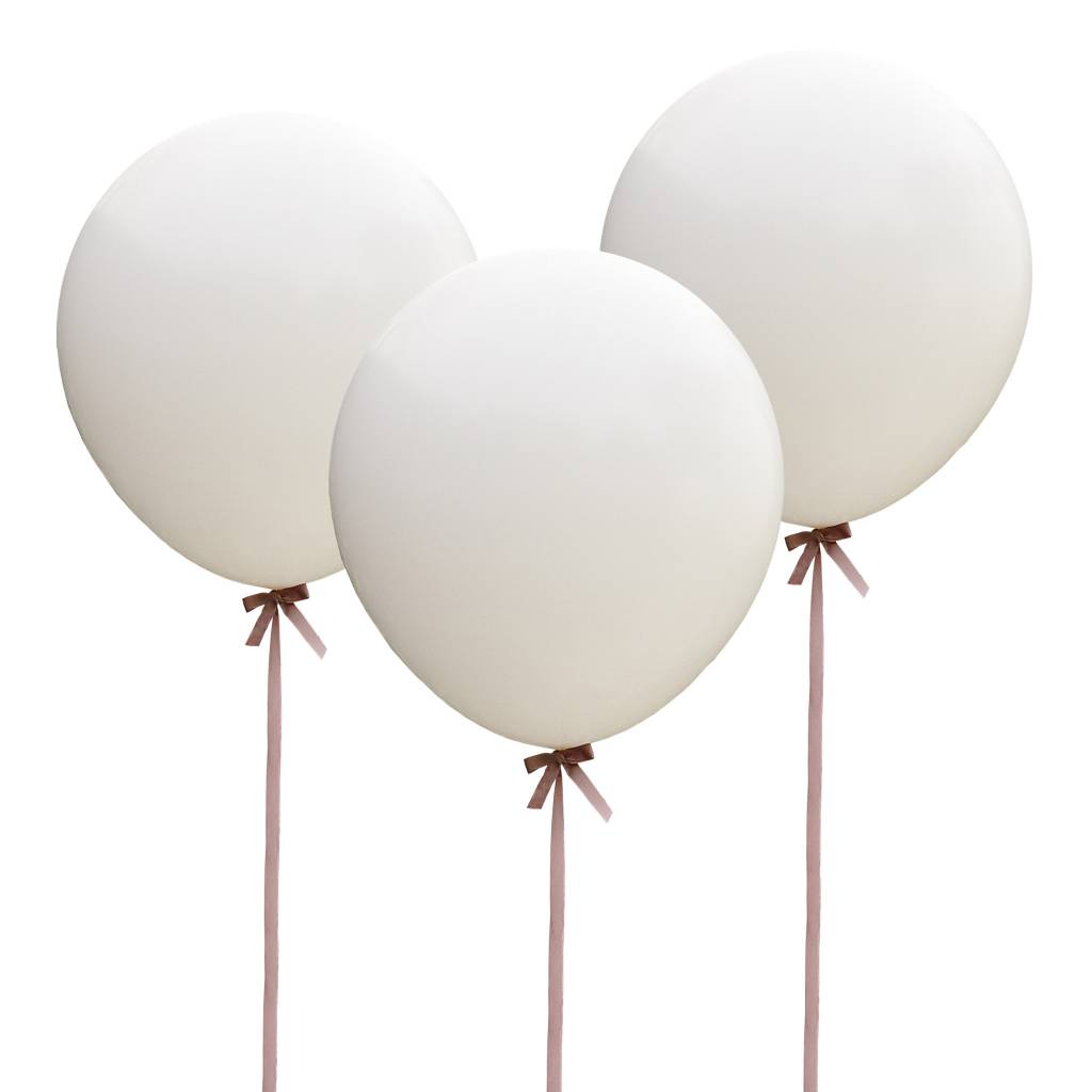 GINGERRAY balloon - huge - white