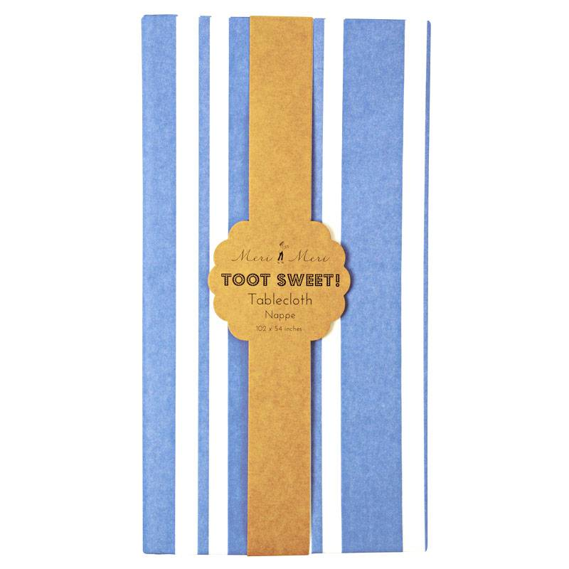 MERIMERI Toot sweet blue tablecloth