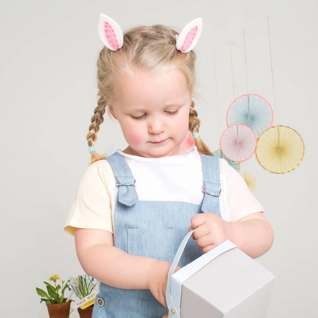 MERIMERI Bunny ear hair clips