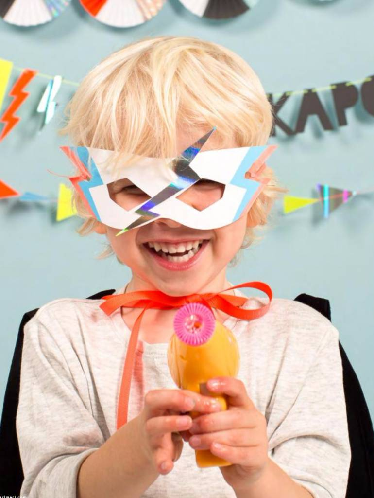 MERIMERI zap! party masks