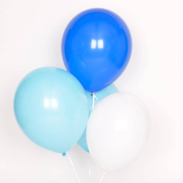 MY LITTLE DAY 10 mix balloons- blue