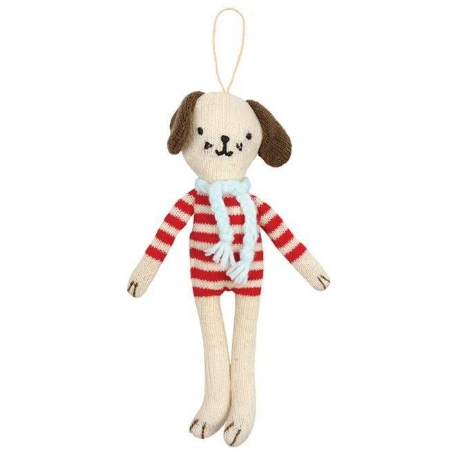 MERIMERI knitted dog decoration