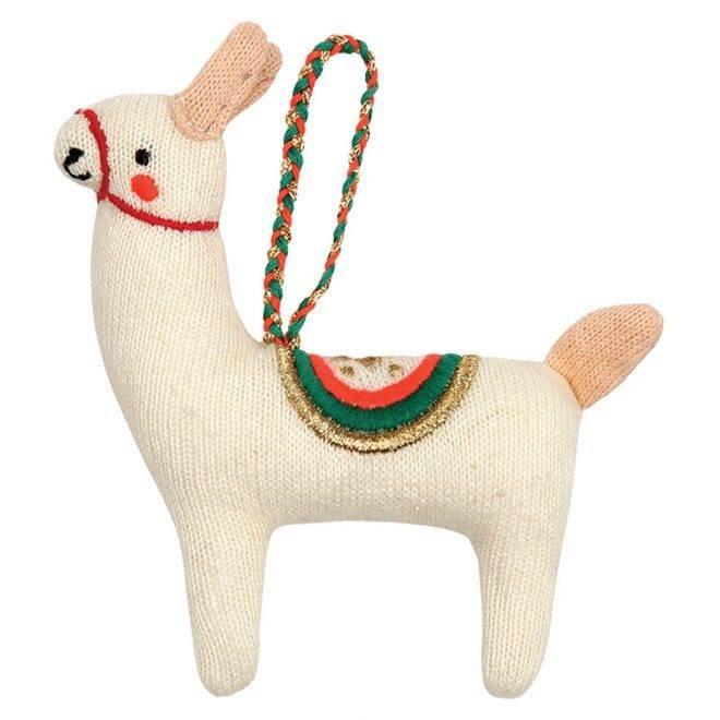 MERIMERI lama knitted decoration