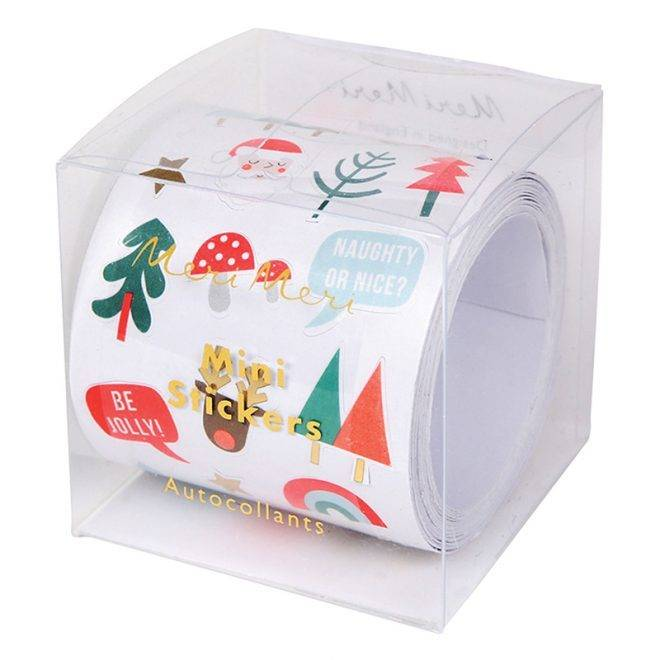 MERIMERI christmas icons sticker roll