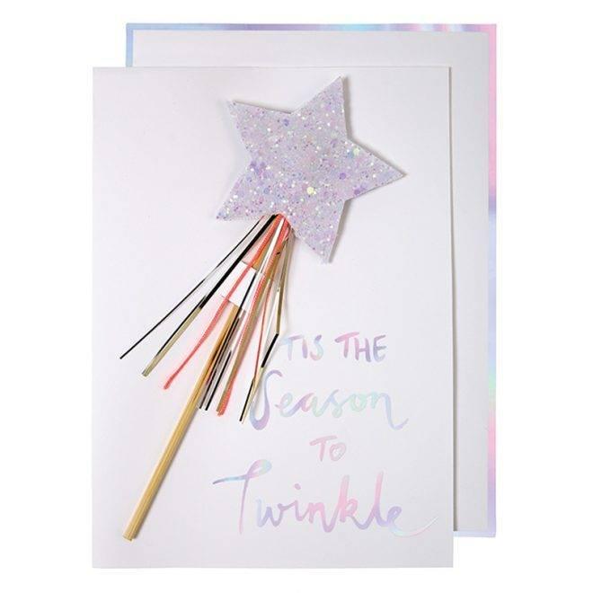 MERIMERI star wand card