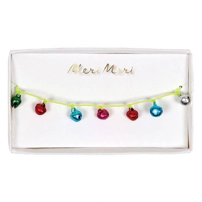 MERIMERI coloured bells bracelet