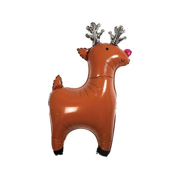 MERIMERI mylar reindeer balloons