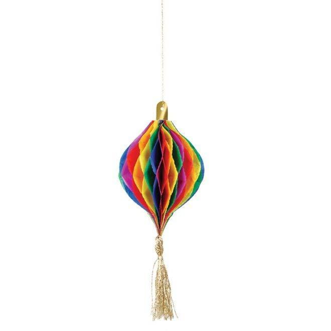 MERIMERI hanging ornament honeycomb card