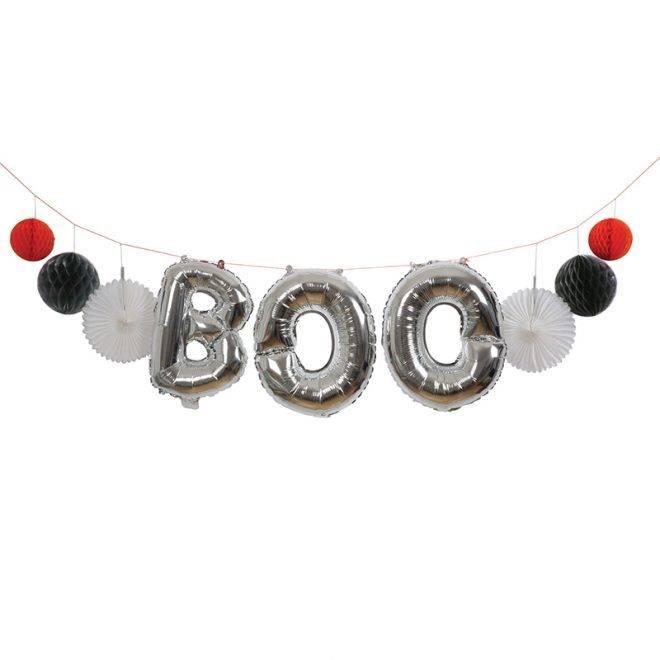 MERIMERI Boo balloon garland kit