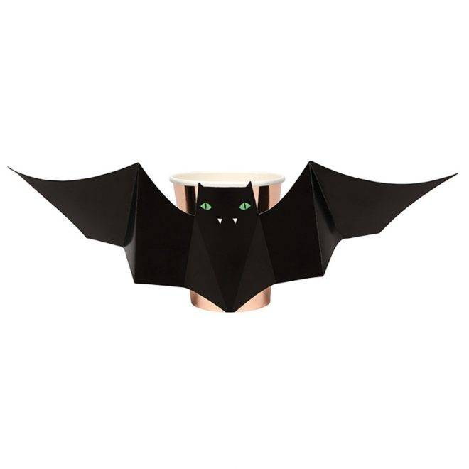MERIMERI Bat party cups