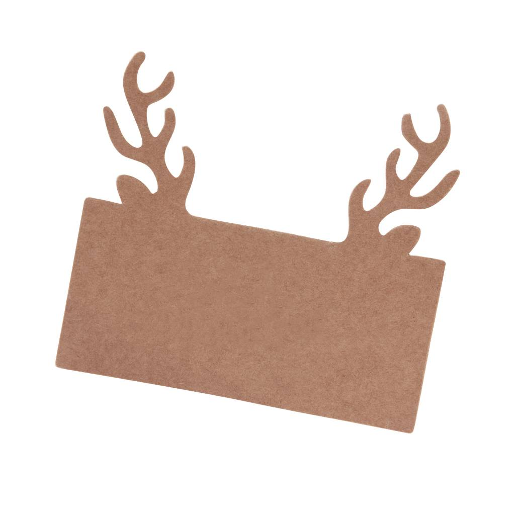GINGERRAY place card holder stag head