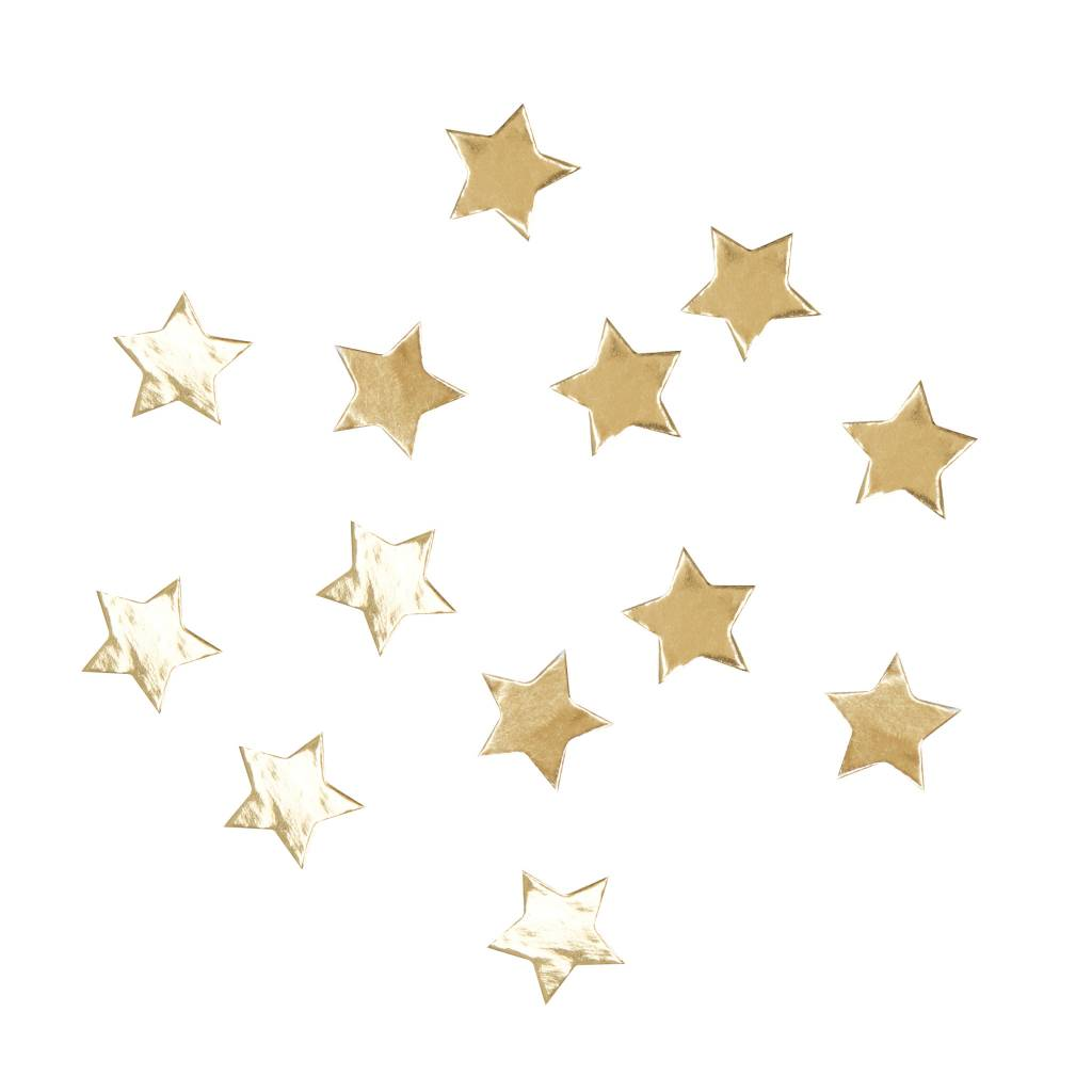 GINGERRAY star confetti gold