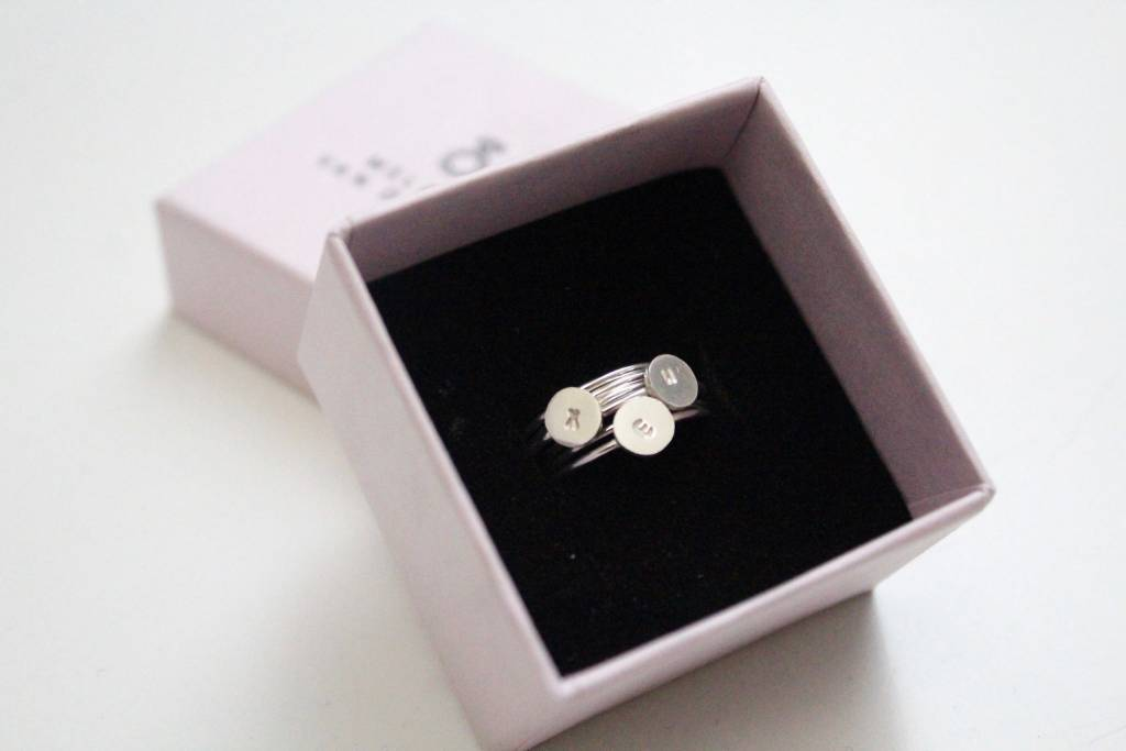 MVD framily ring single thin silver