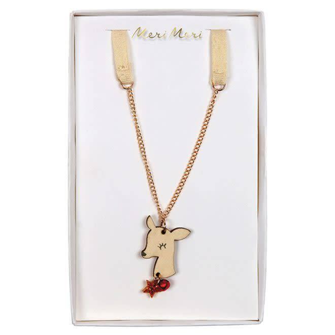 MERIMERI Deer necklace