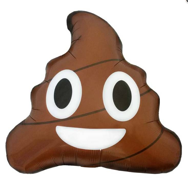 "SMP emoji poop 24"" (56 cm)"