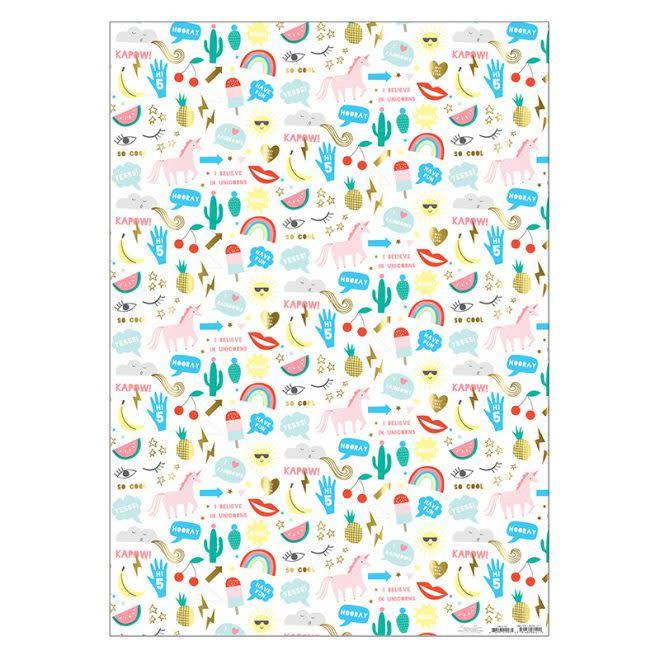 MERIMERI Icons wrapping paper