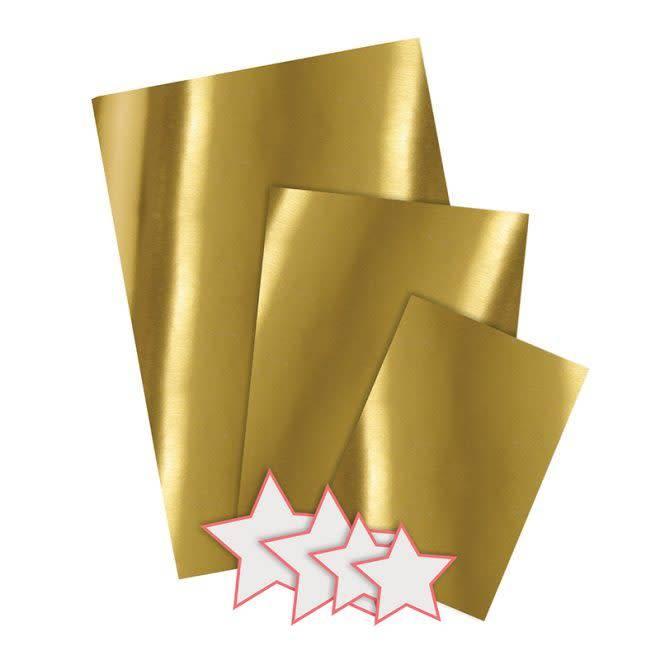 MERIMERI Gold mylar gift bags