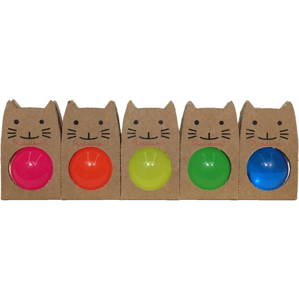 RATATAM ball fluo blue small bouncing